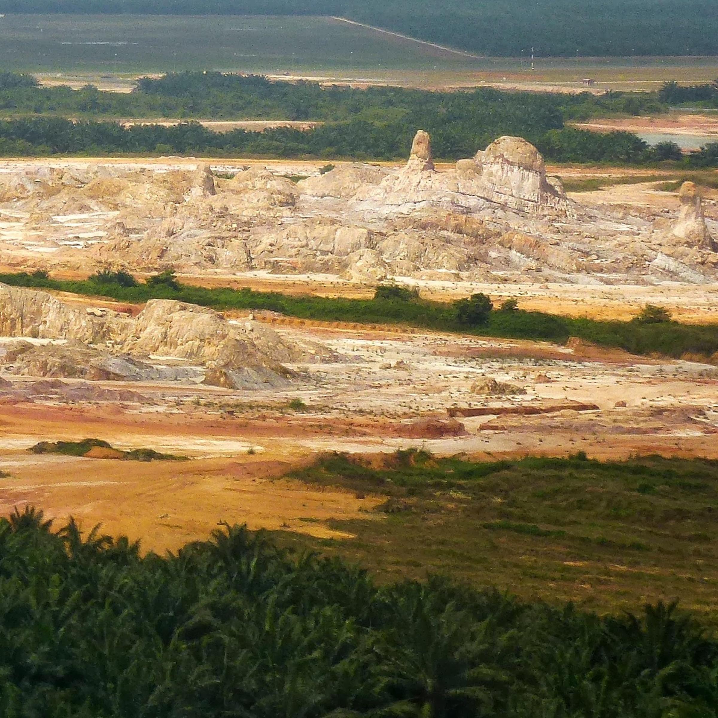 Bukit Pelandok Pig Farming Area. Malaysia, Selangor, Sungai Pelek