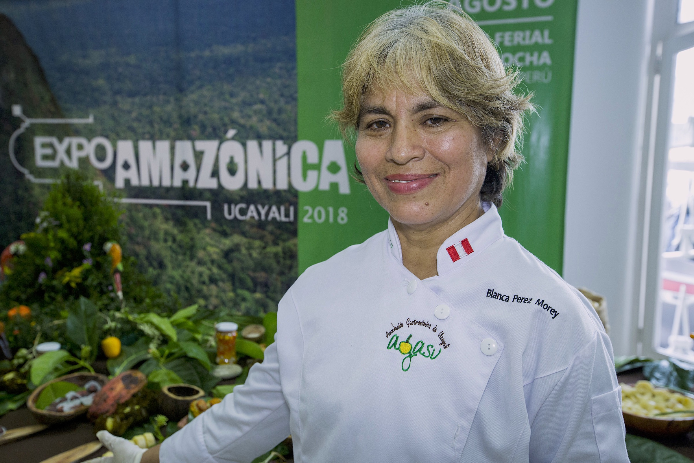 Blanca Perez Morey hopes that by cultivating a taste for wild rainforest foods, she and her organization can help protect the Amazon.