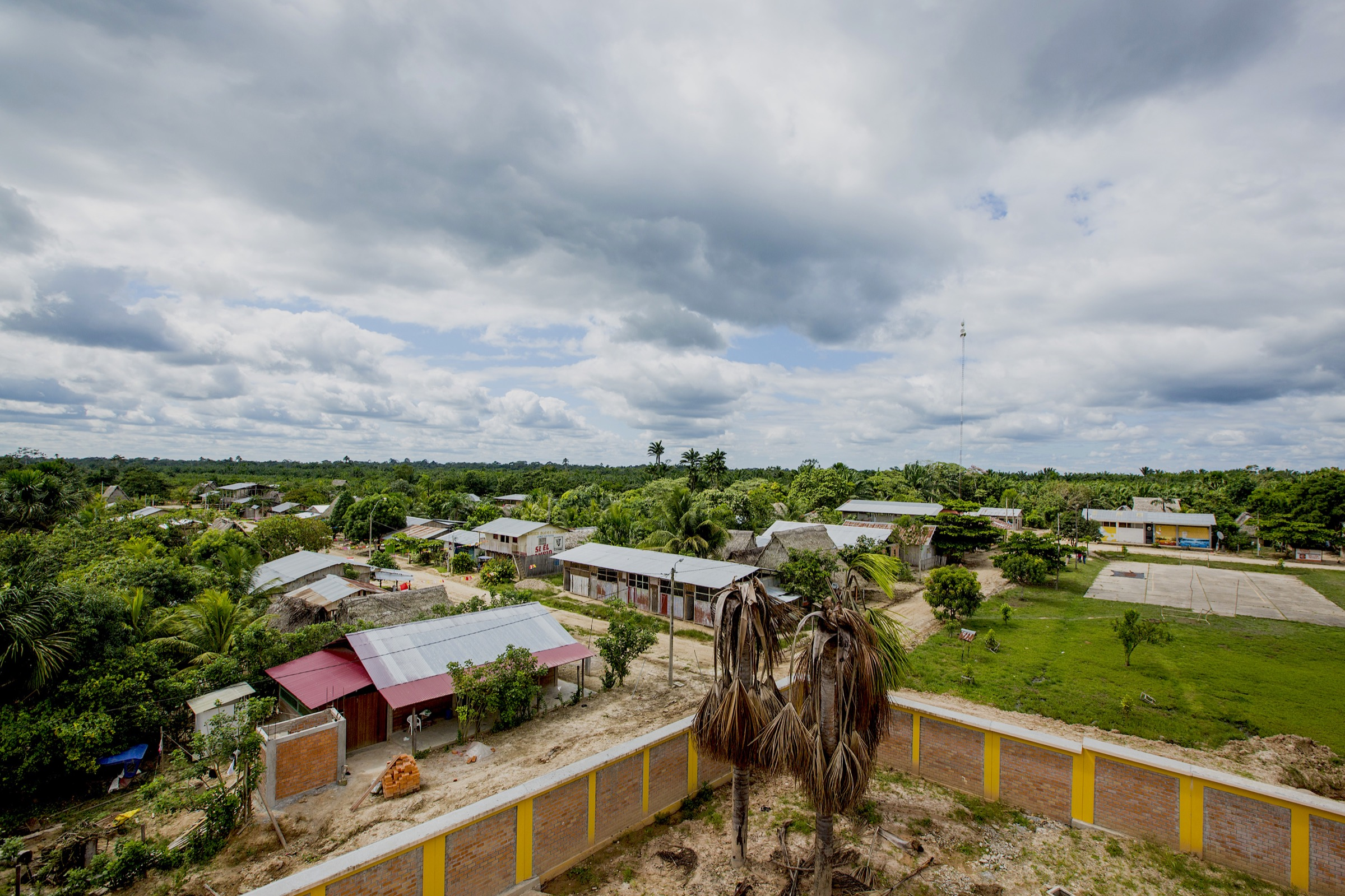 The community of Pueblo Libre depends on palm oil production, but many residents still rely heavily on the native forest plants and animals for sustenance and livelihoods.