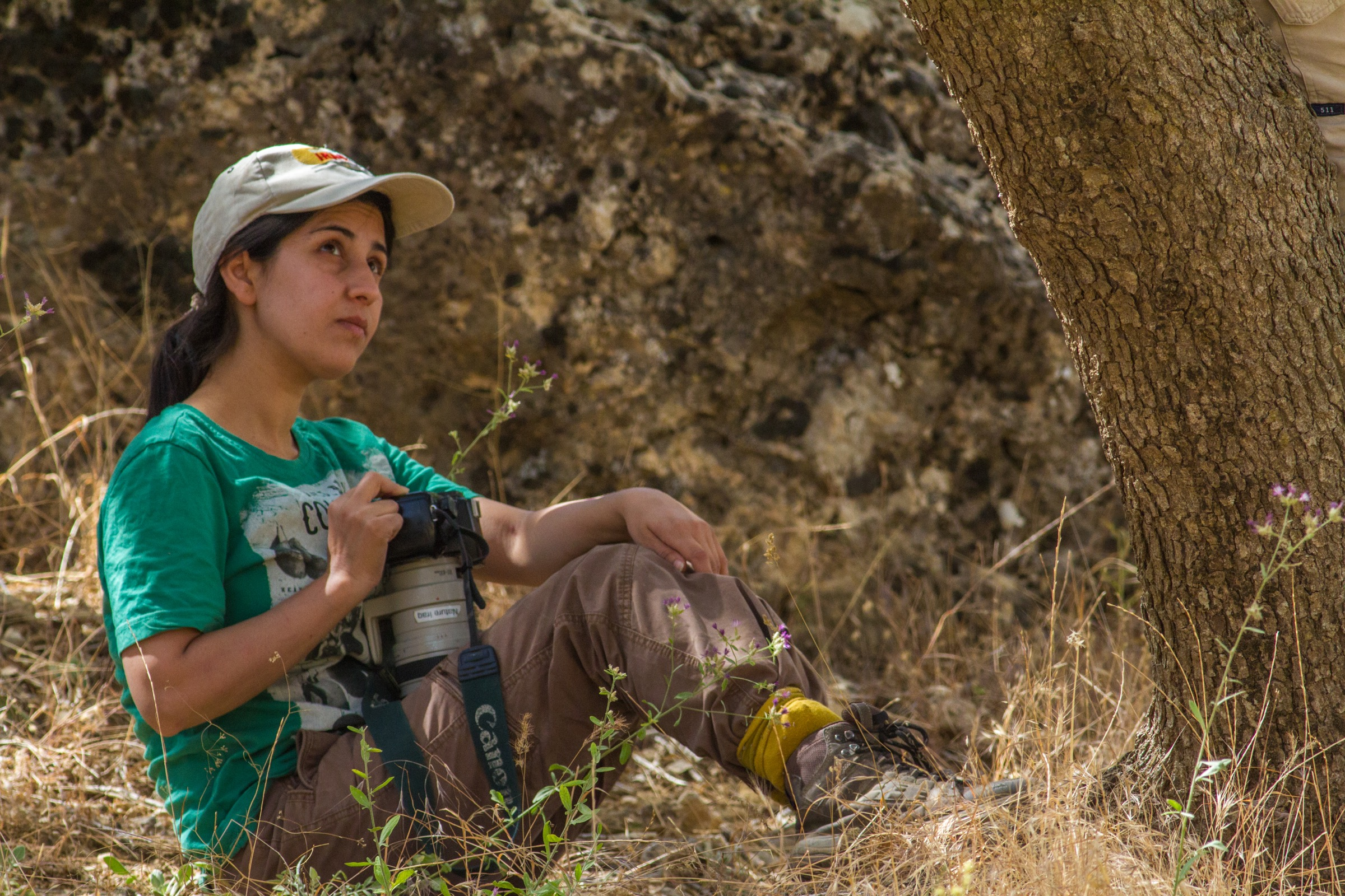 Pragmatic and a little bit fierce, Hana Raza remains undeterred by the countless challenges that come with conservation work in Iraq. Photograph by Korsh Ararat