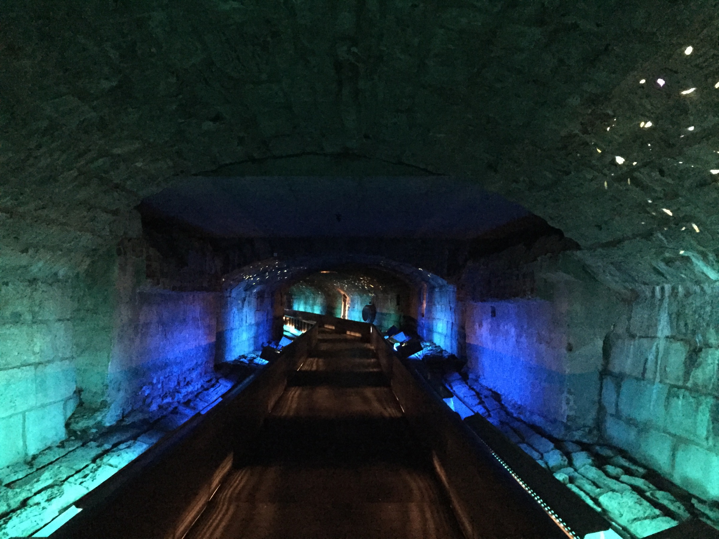 Once an underground channel for Montreal's polluted Little River, this tunnel is now a reminder of the corridors humans have created and destroyed as civilizations grew. Photograph by Hillary Rosner