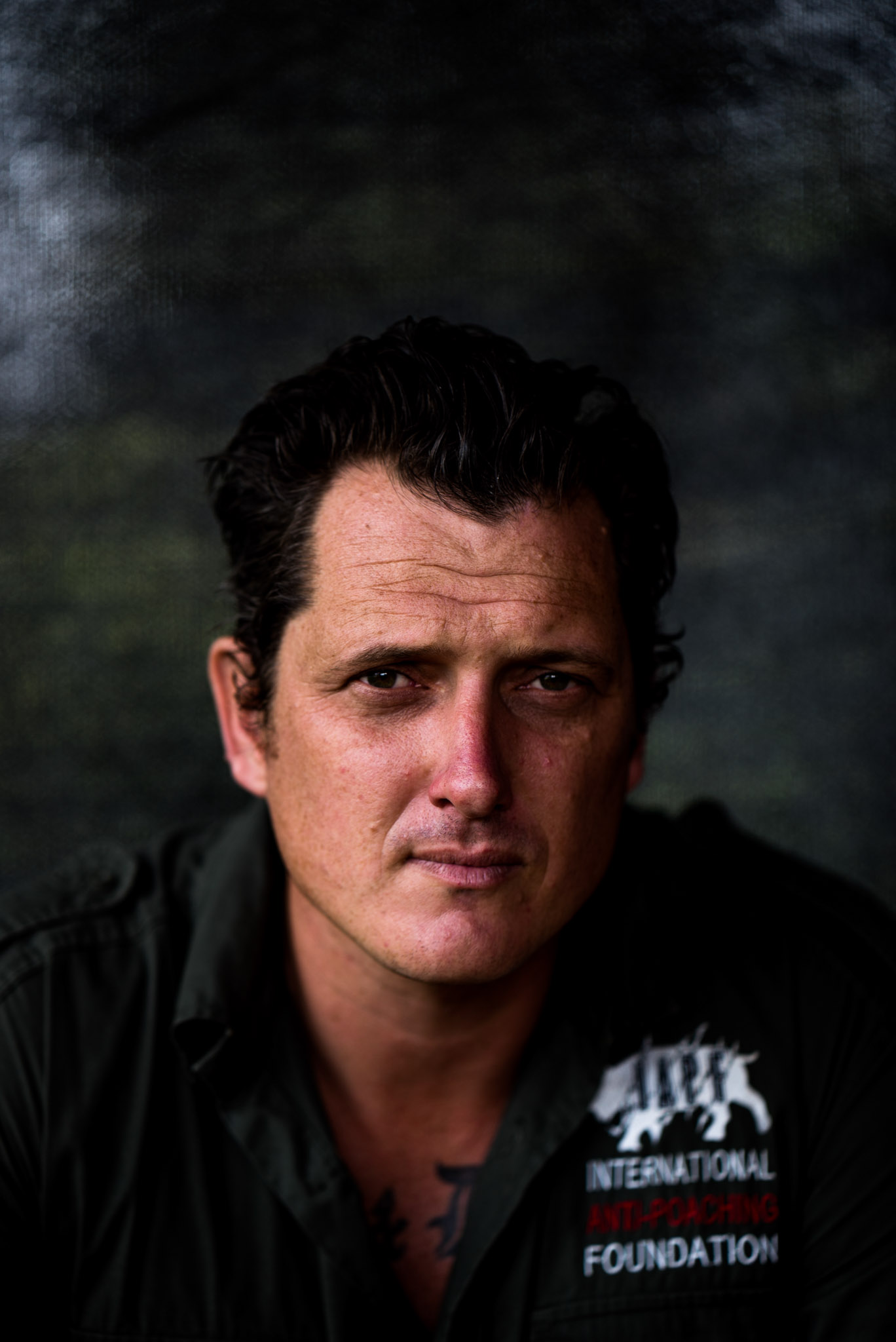 Damien Mander, founder of the International Anti-Poaching Foundation—Photograph by Michael Hathorn, Ginkgo Agency