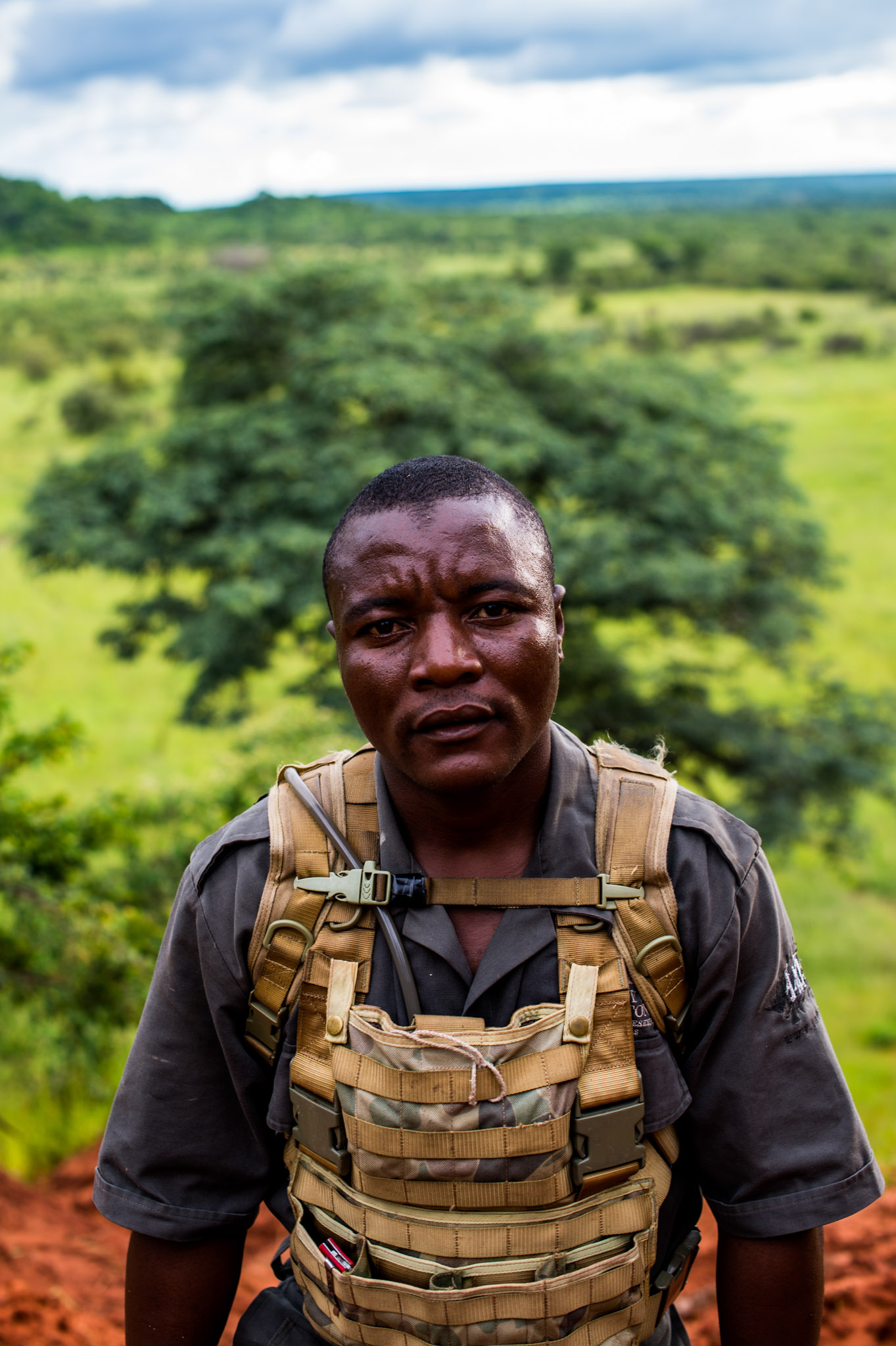 IAPF ranger Michael Dube—Photograph by Michael Hathorn, Ginkgo Agency