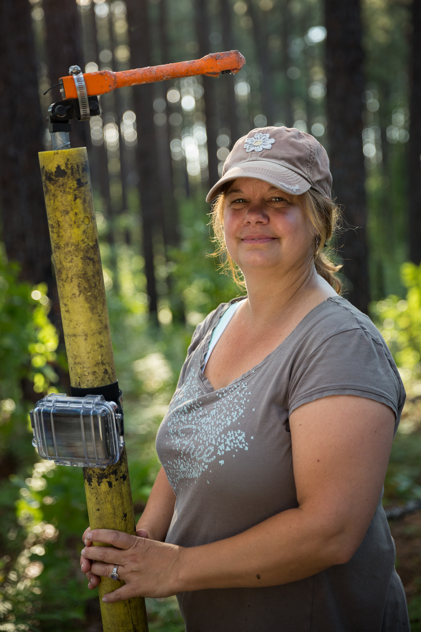 Biologist Kerry Brust, director of the Sandhills Ecological Institute.