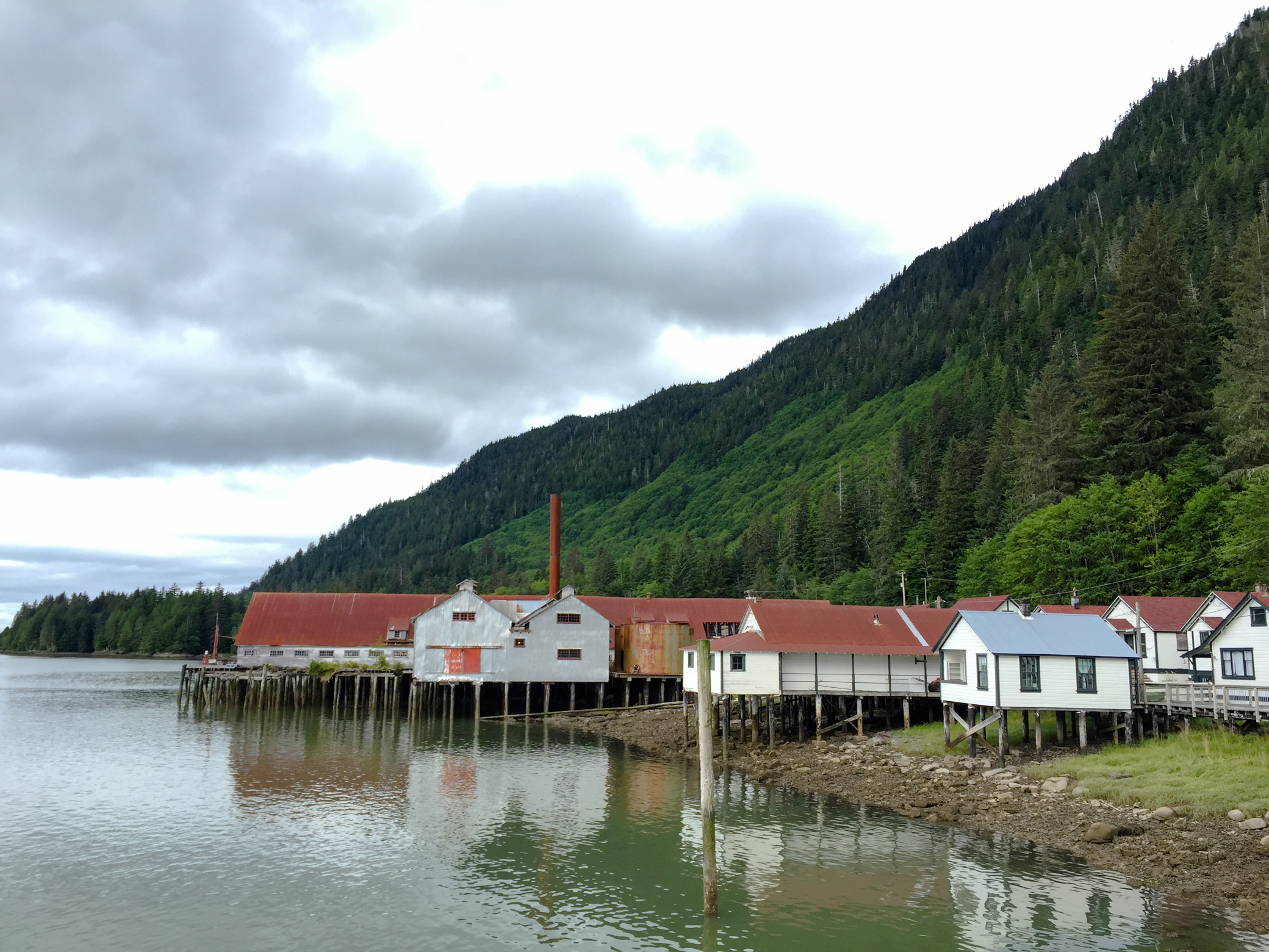 The North Pacific Cannery National Historic Site, where visitors learn about the bygone era of abundant salmon and buzzing canneries that shipped Skeena salmon all around the globe. Photo by David Wolman